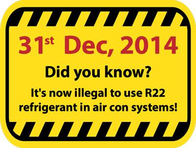 R22-Warning